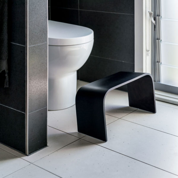 PROPPR® wooden toilet stool