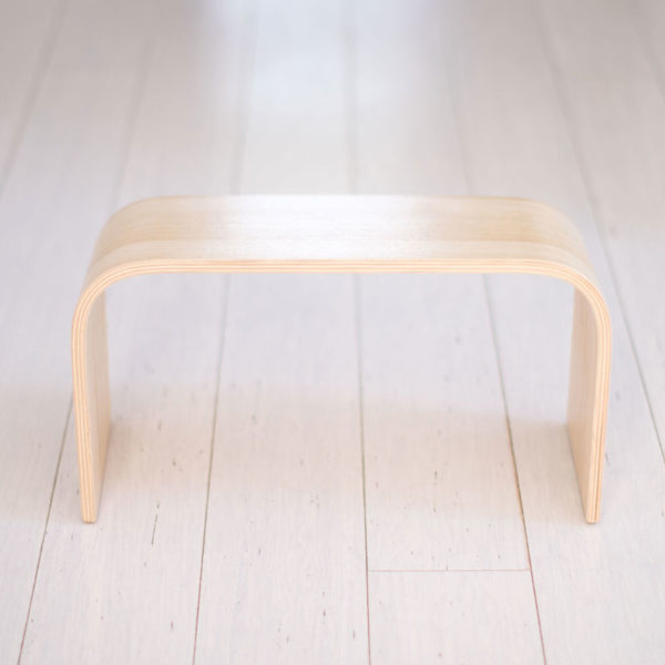 PROPPR® Oak Timber toilet stool