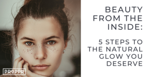 5 steps to glowing skin